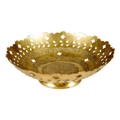 Brass Flower-Bowl-207